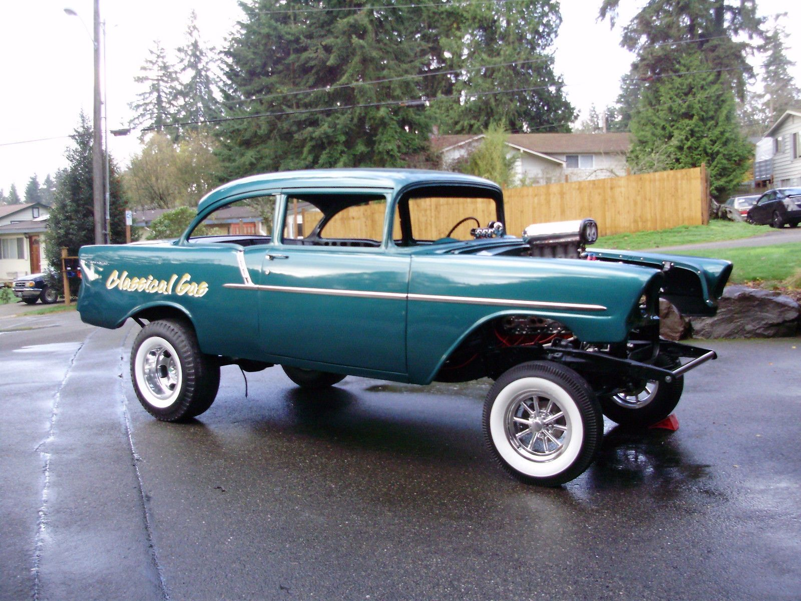 Gasser Car 1956 Chevrolet 150 Gasser Project Cars For