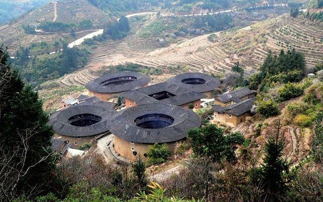 Tulou-Rundhäuser bei Xiamen