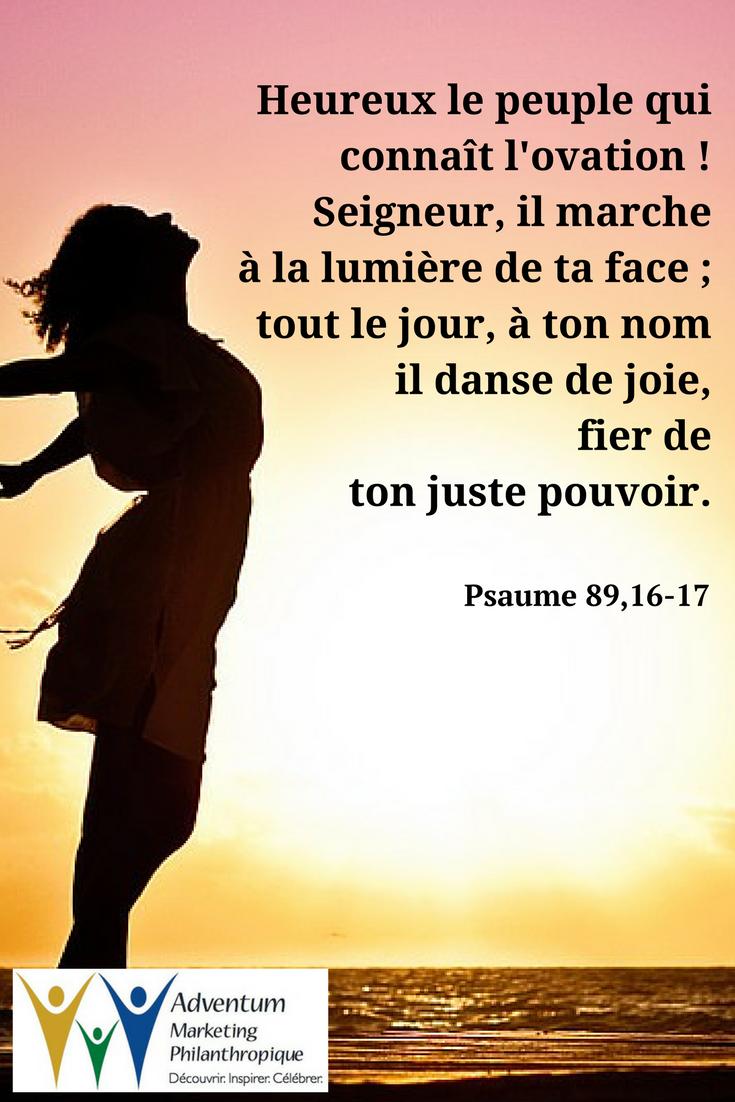 12 janvier 2017 – Psaume 89,16-17 | Texte biblique, Psaumes ...