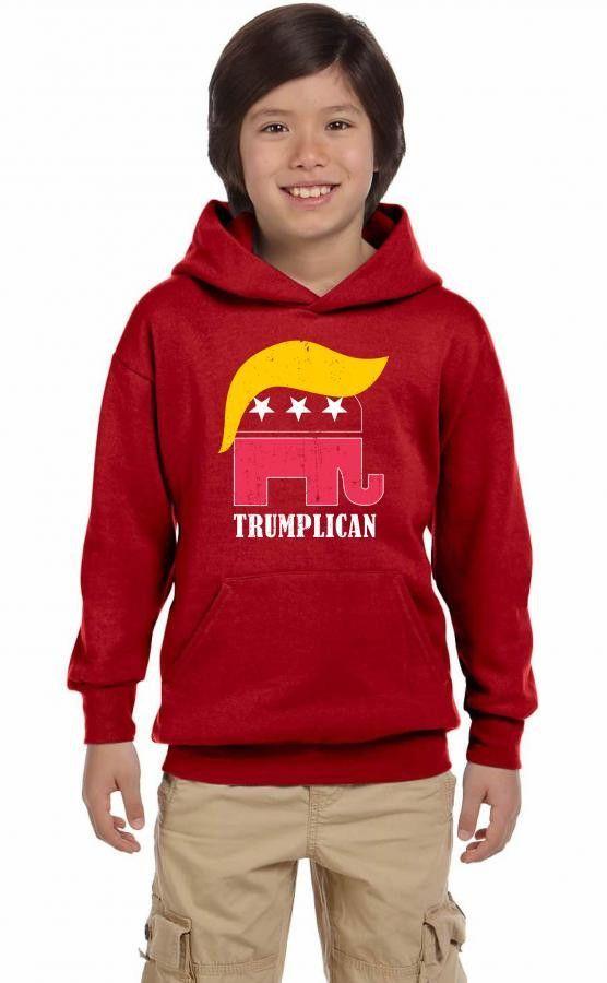 trumplican funny Youth Hoodie