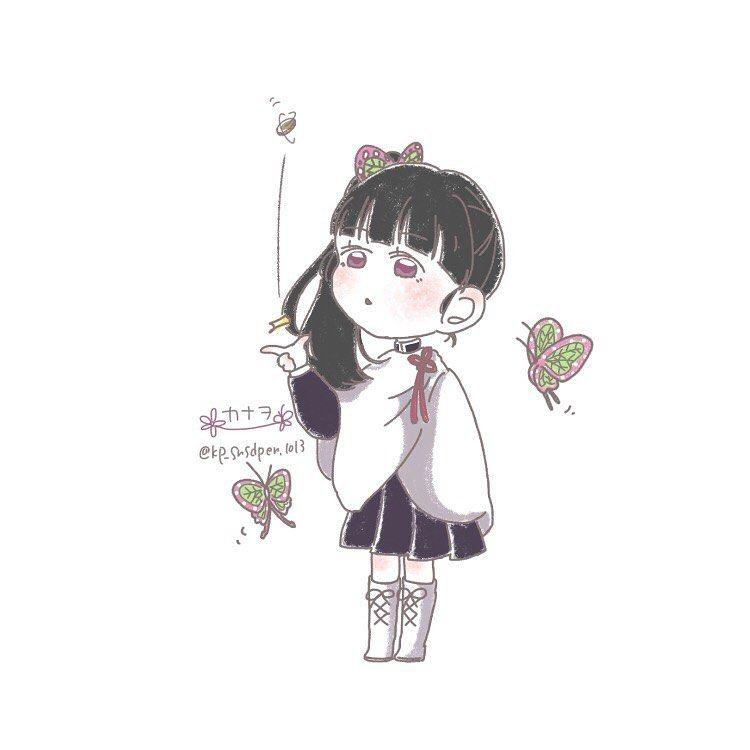 可愛い カナヲ イラスト