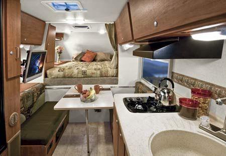 2009 Lance Truck Camper 830 Interior
