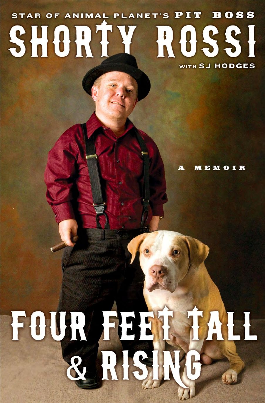the tough-talking, fedora-wearing star of Animal Planet's hit show Pit Boss