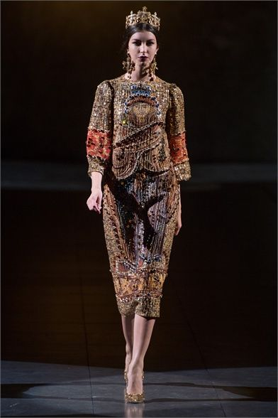 Dolce   Gabbana - Collections Fall Winter 2013-14 - Shows - Vogue.it ... 65822e822cd