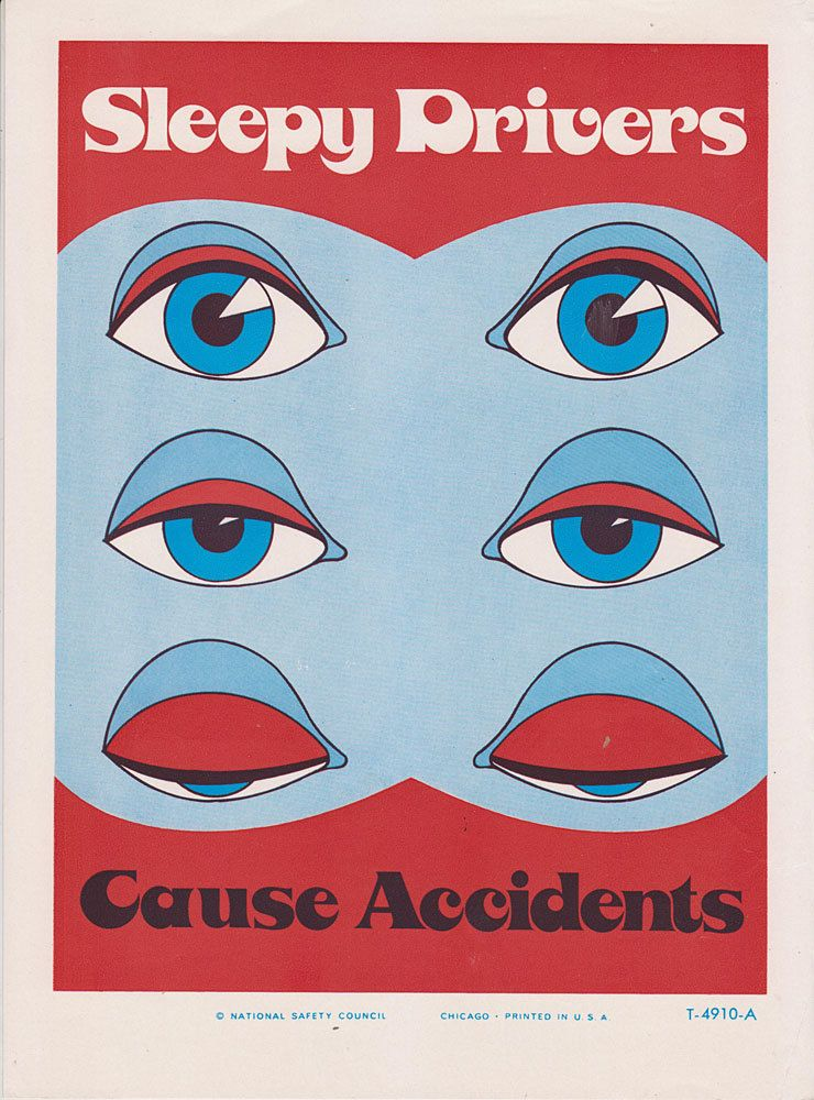 Stay awake at work! (With images) Safety posters, Road