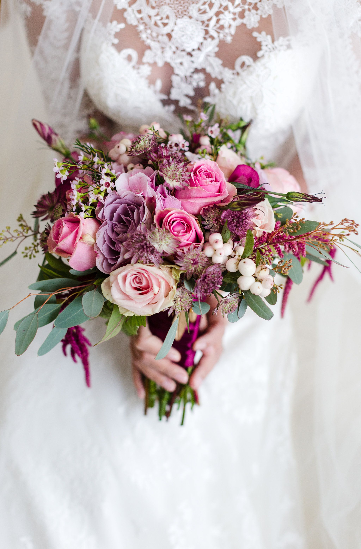 Autumn Bridal Bouquets Oktober Hochzeit Marsala Blush Eucalyptus And Lila Brautstrauss Inspiration H Oktober Hochzeit Blumenstrauss Hochzeit Hochzeit Herbst
