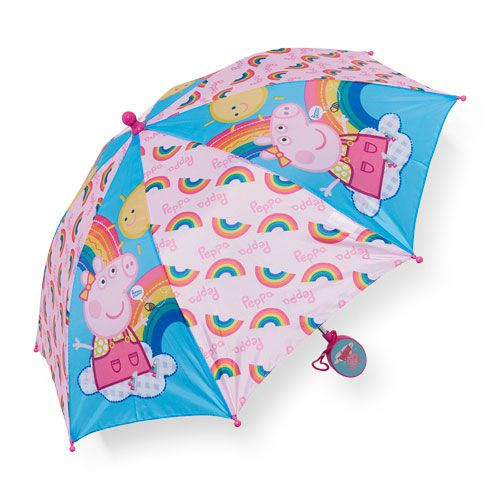 Girls Peppa Pig Rainbow Print Umbrella - Multi - The Children's Place