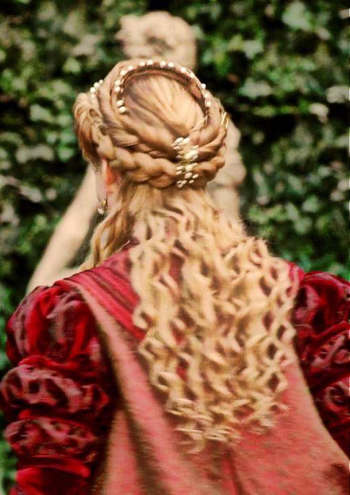 Closet of the Borgia Ladies   Renaissance hairstyles ...