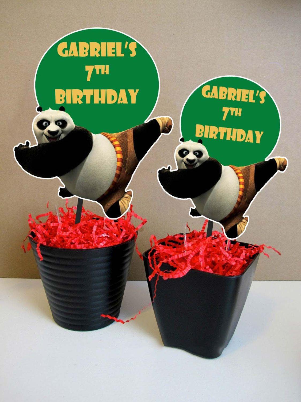 Gmail panda theme - Kung Fu Panda 3 Centerpiece Kung Fu Panda 3 Birthday Party Kung Fu Panda