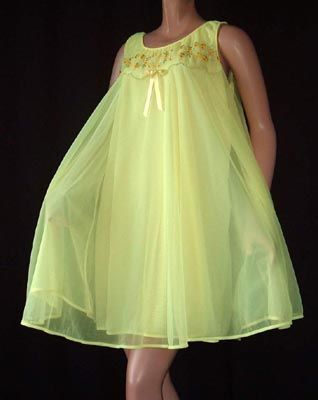 e4dcd7544f chiffon nightgown - my mom had one like this in turquoise...I d put it on  and twirl to the music of my records in the living room. he