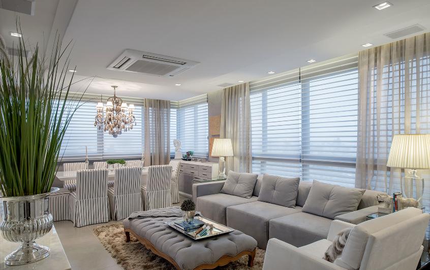 Blog De Decoração E Arquitetura : Apartamento Com Salas De Tv E Jantar