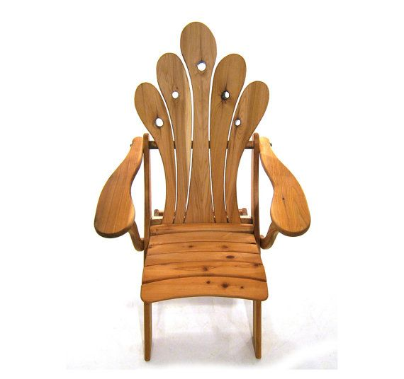 Looking For Some Outdoor Furniture   This Handmade Cedar Beauty From Etsy  Might Be The One