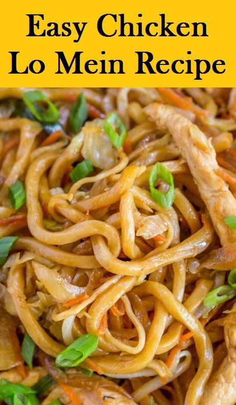 Easy Chicken Lo Mein Recipe images
