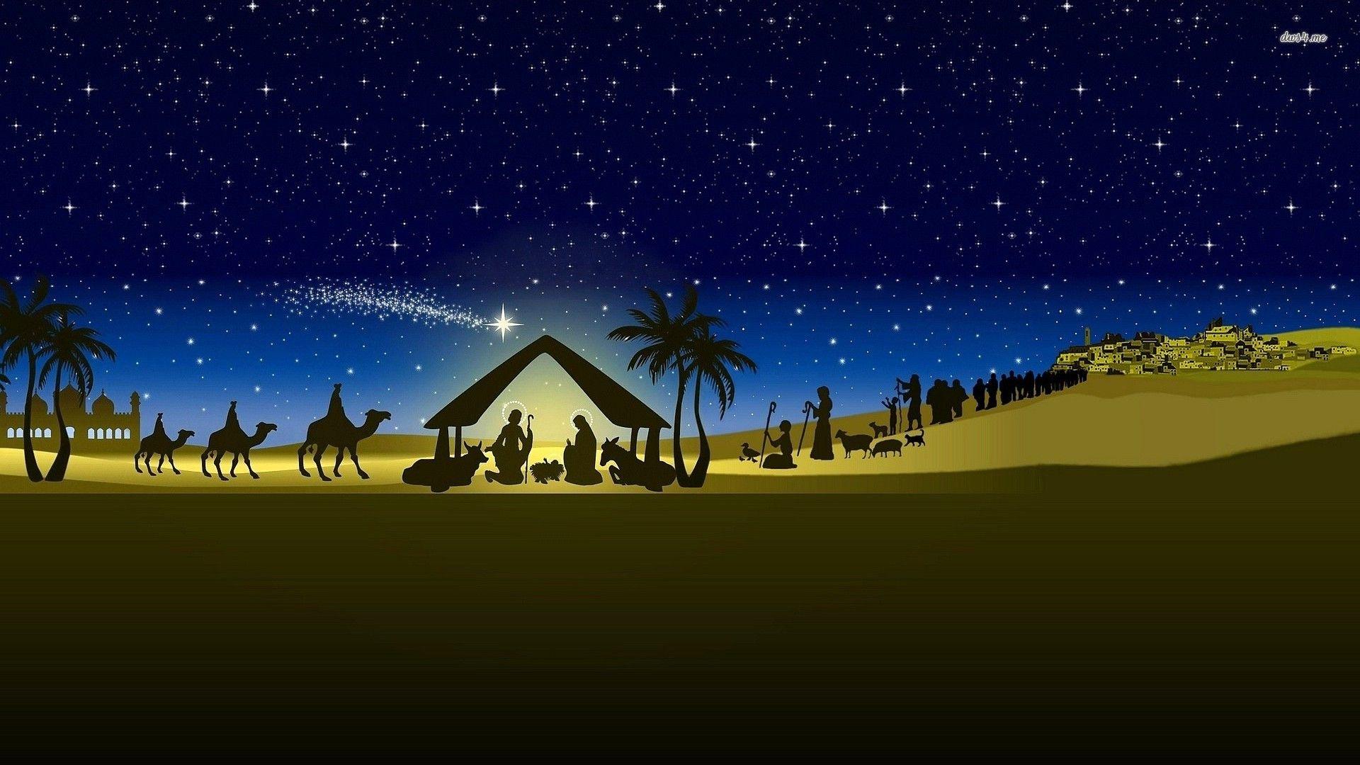 Nativity Scene Images Nativity Scene Christmas Nativity Scene Night Painting