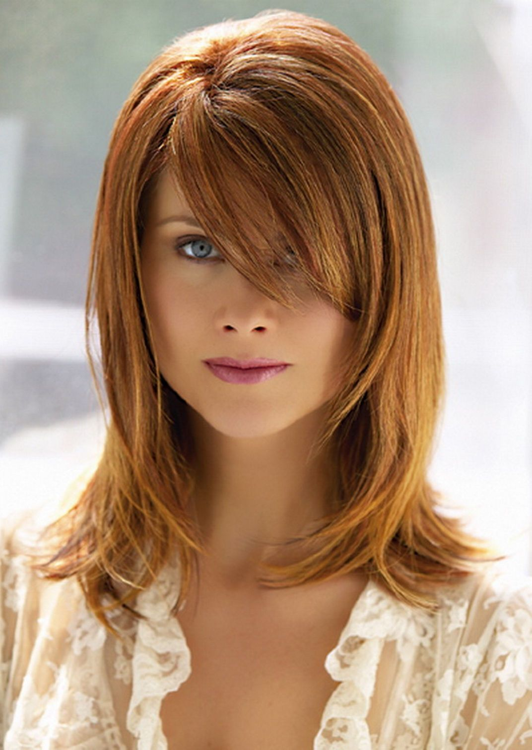 Blunt Haircuts For Medium Length With Layers Hair Medium Pics