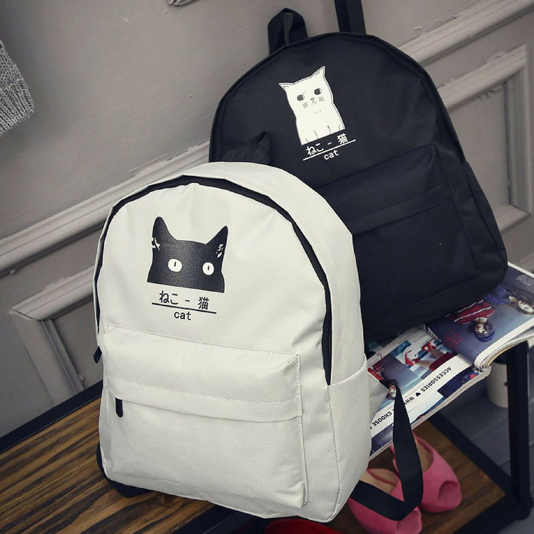 """Which one?  Cute Cat Backpack  Link in bio @meowaish. . 50% OFF Ohh wait we Give you FREE SHIPPING WORLDWIDE!!. Grab yours now http://bit.ly/2p4kzQ2 . . The SALE available until today 11.59 PM!!! . .  Shop here  http://bit.ly/2p4kzQ2  Tag your Best friend Who Would Love This  . Follow us  @meowaish . """"Shop Online"""" www.meowaish.com  Follow @meowaish @meowaish @meowaish"""