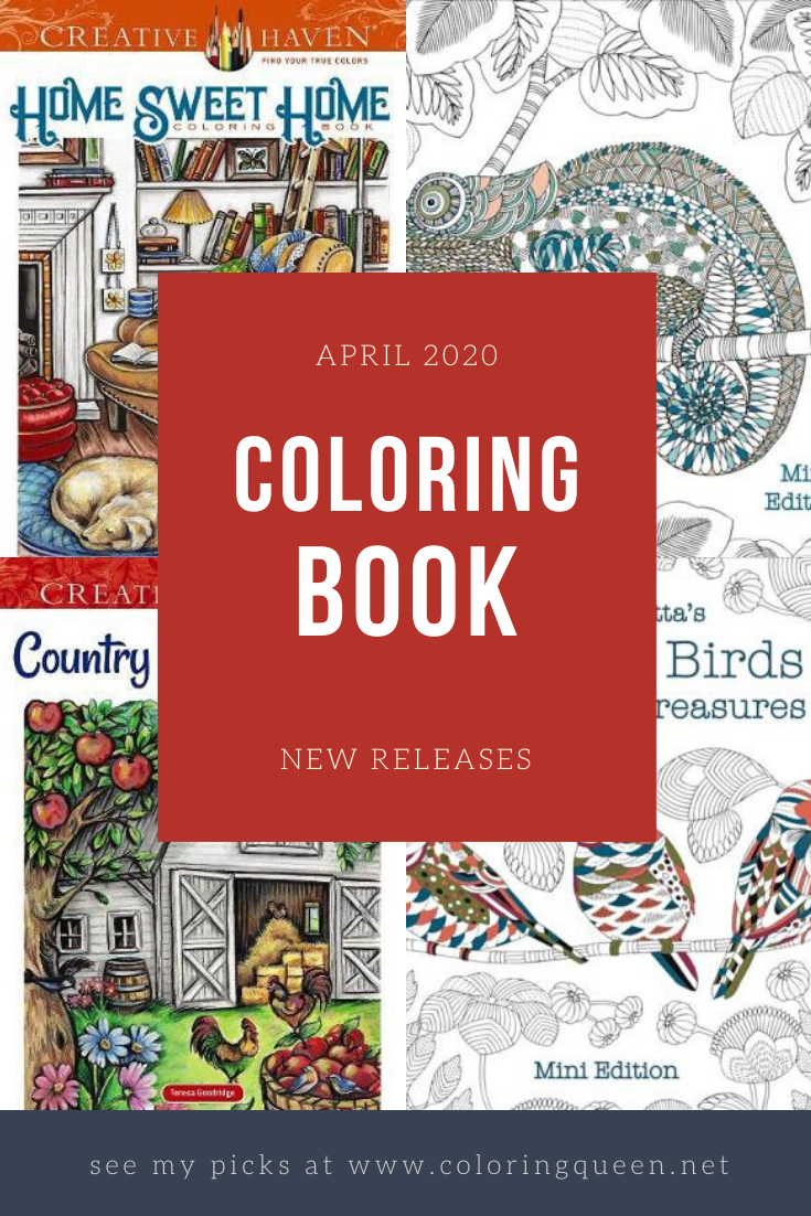Coloring Books New Releases April 2020 Coloring Queen Books New Releases Coloring Books Books