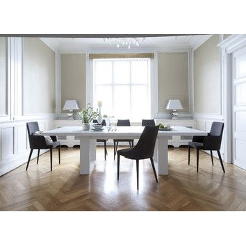 Tema Tema Tundra Extendable Dining Table Contemporary Dining Room