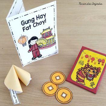 Chinese New Years Card New Years