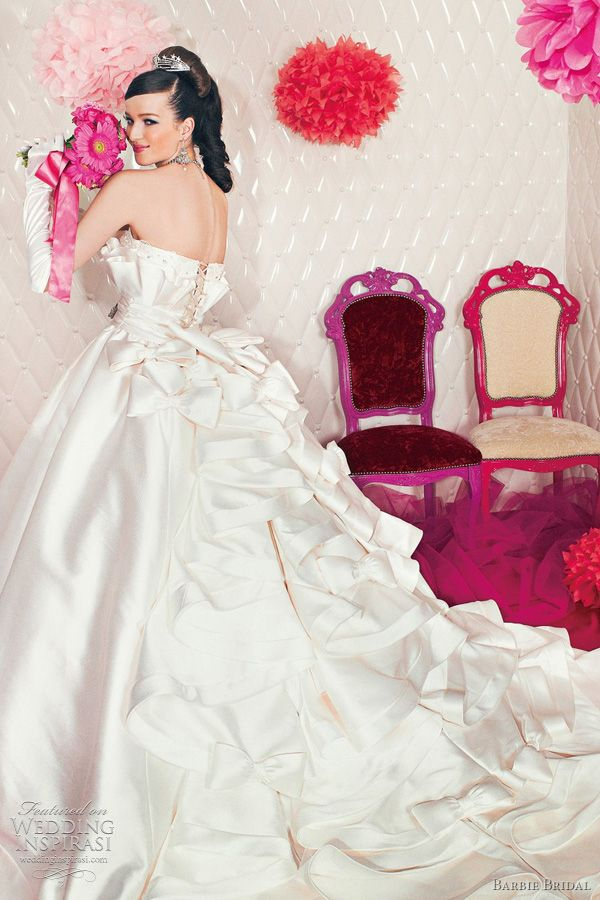 Barbie Bridal Wedding Dresses — Gowns from the Sixth Collection ...