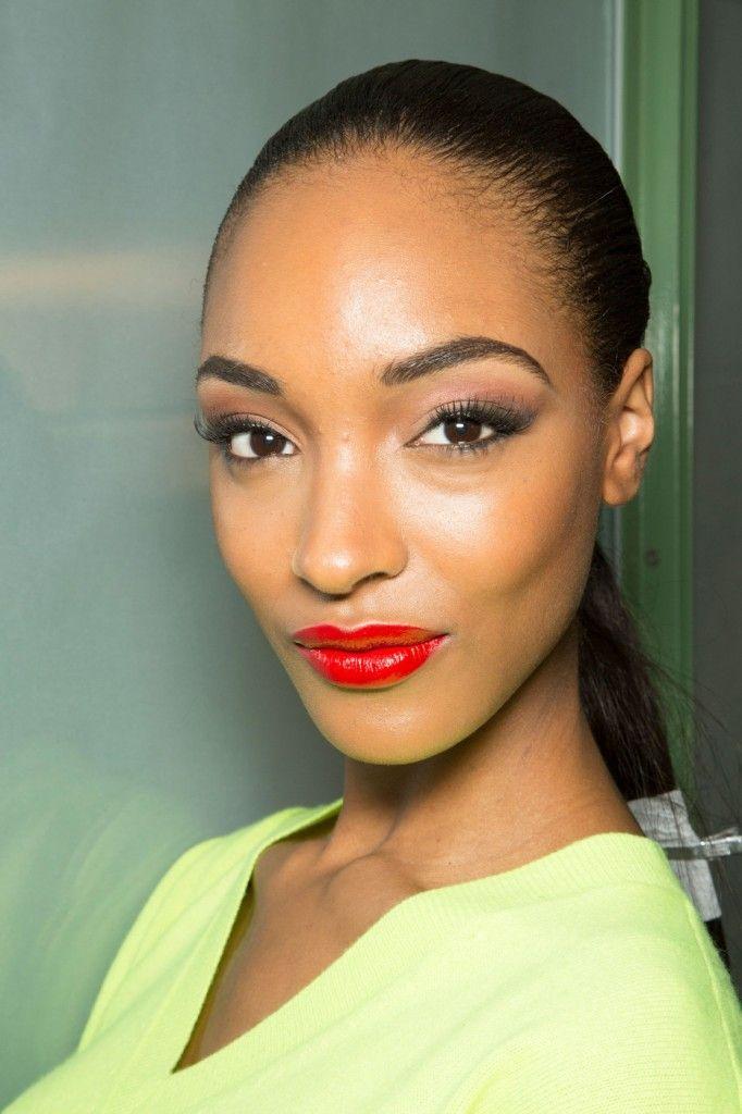 Jourdan Dunn Candid Beauty Shot  Put Your Best Face -4409