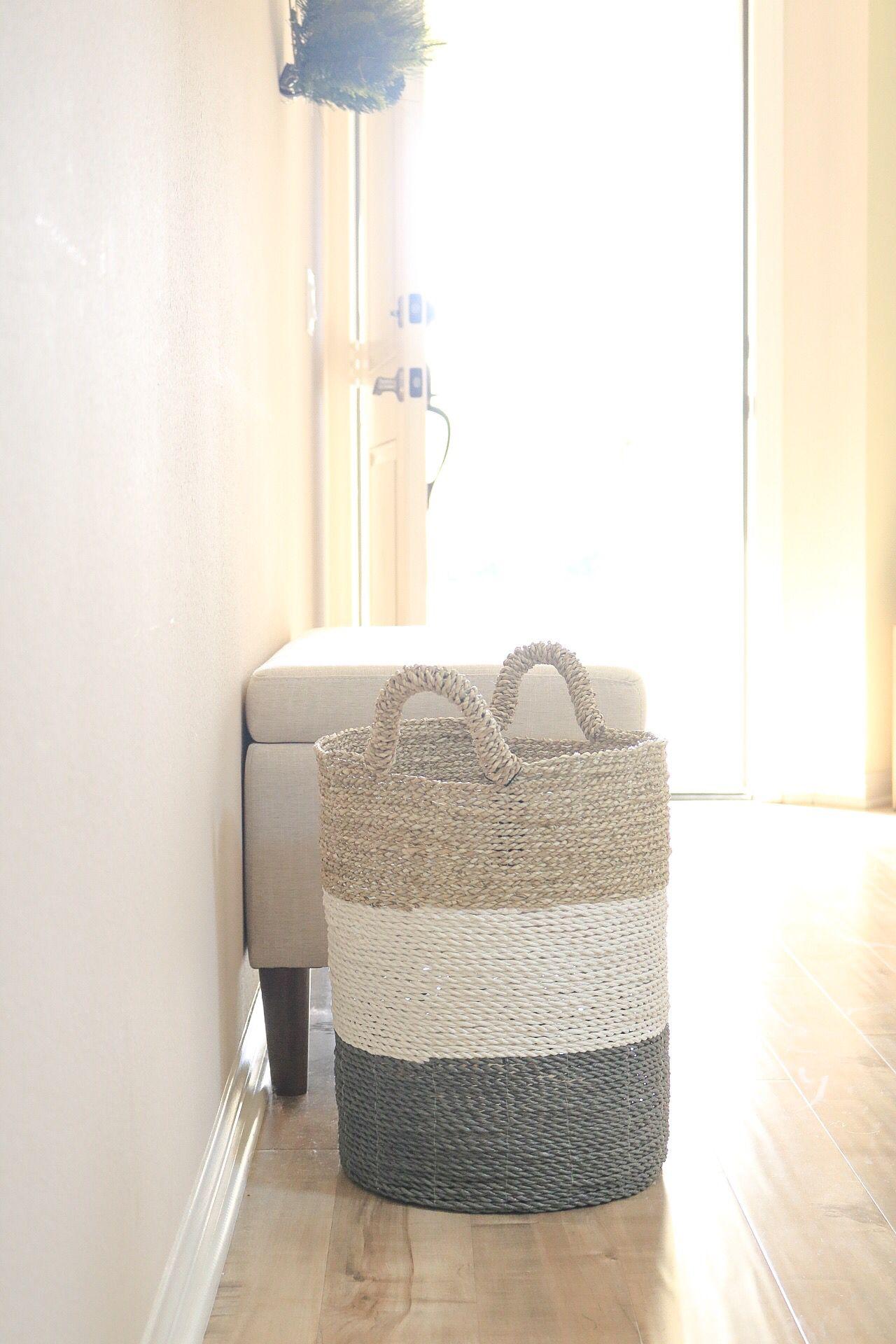 Homegoods Find Basket Baskets Homedecor Laundry Hamper White