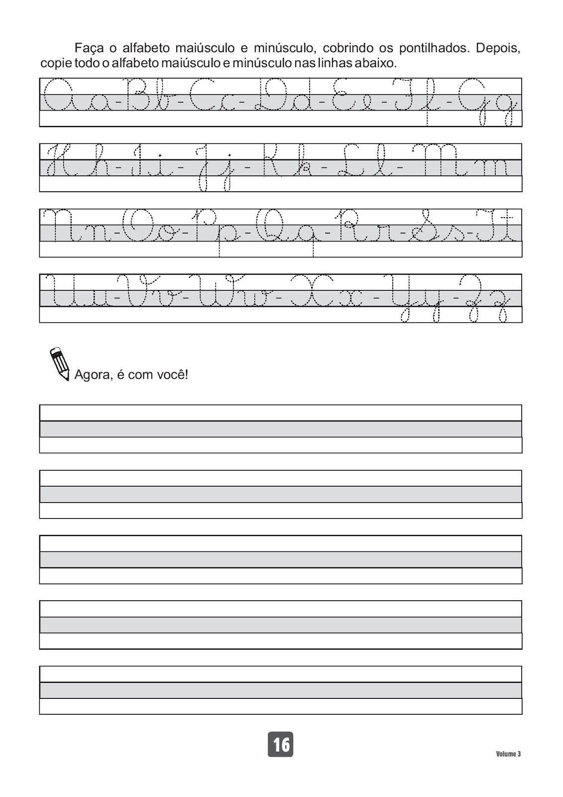 Atividades Para Imprimir Caderno De Caligrafia Com Imagens