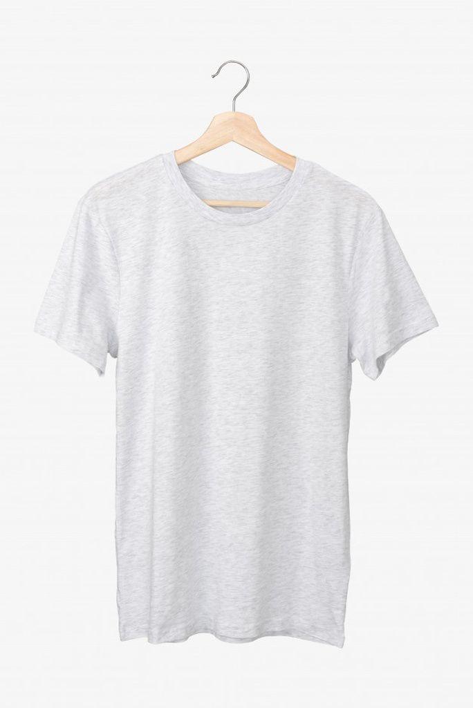 Download Basic Grey T Shirt On A Hanger Paid Paid Sponsored Grey Shirt Hanger Basic Gray Tshirt Basic Grey Design Kaos