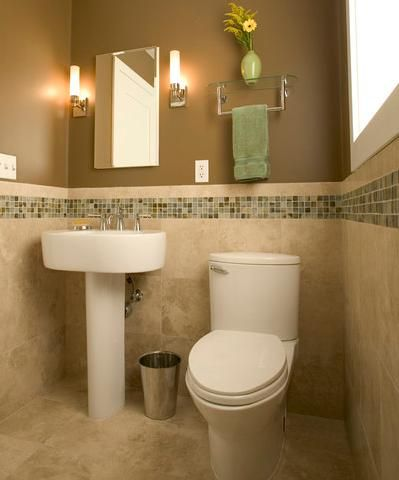 26 Half Bathroom Ideas And Design For Upgrade Your House Part 34