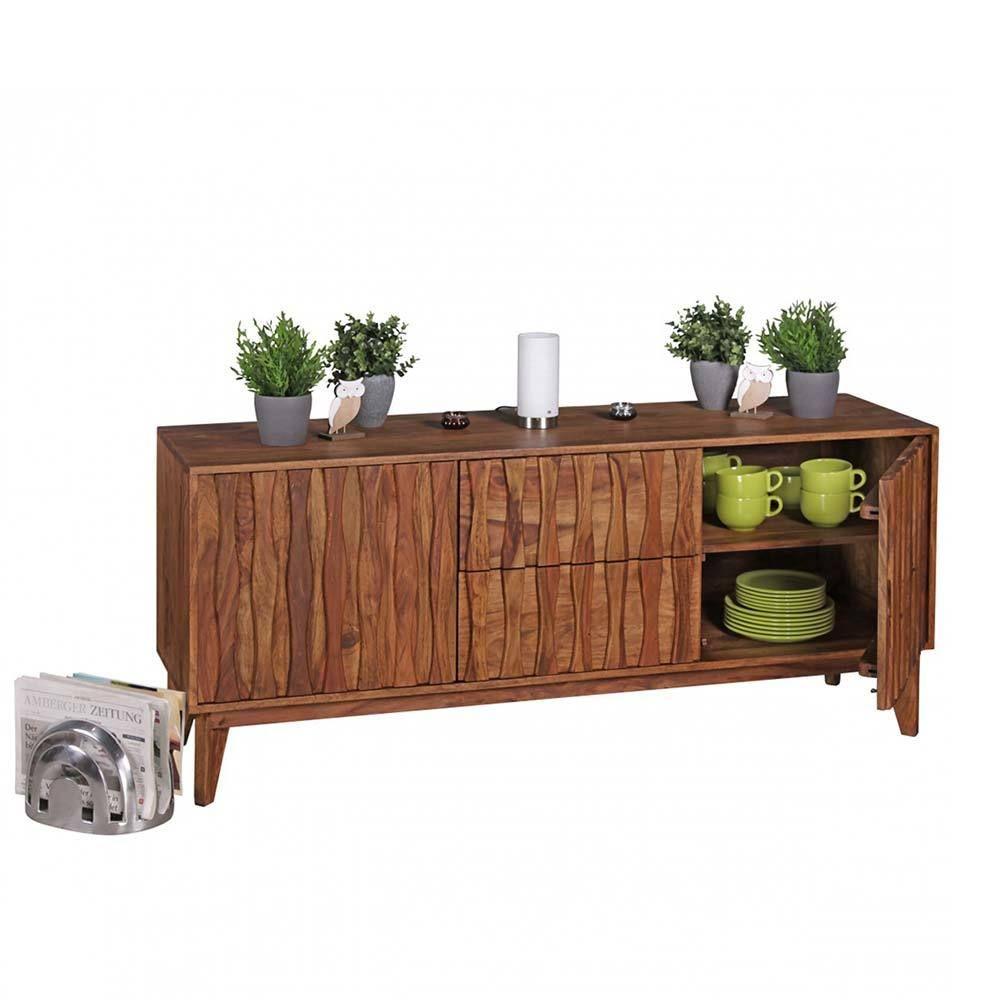 finest design sideboard aus sheesham massivholz d stuktur jetzt bestellen unter httpsmoebel with echtholz sideboard
