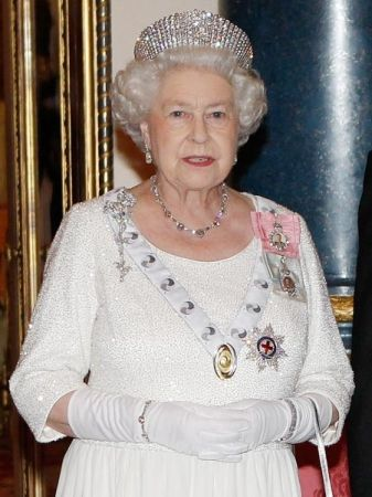 South African 21st Birthday Necklace and Bracelet, and the Russian Kokoshnik Tiara worn by HM Queen Elizabeth II