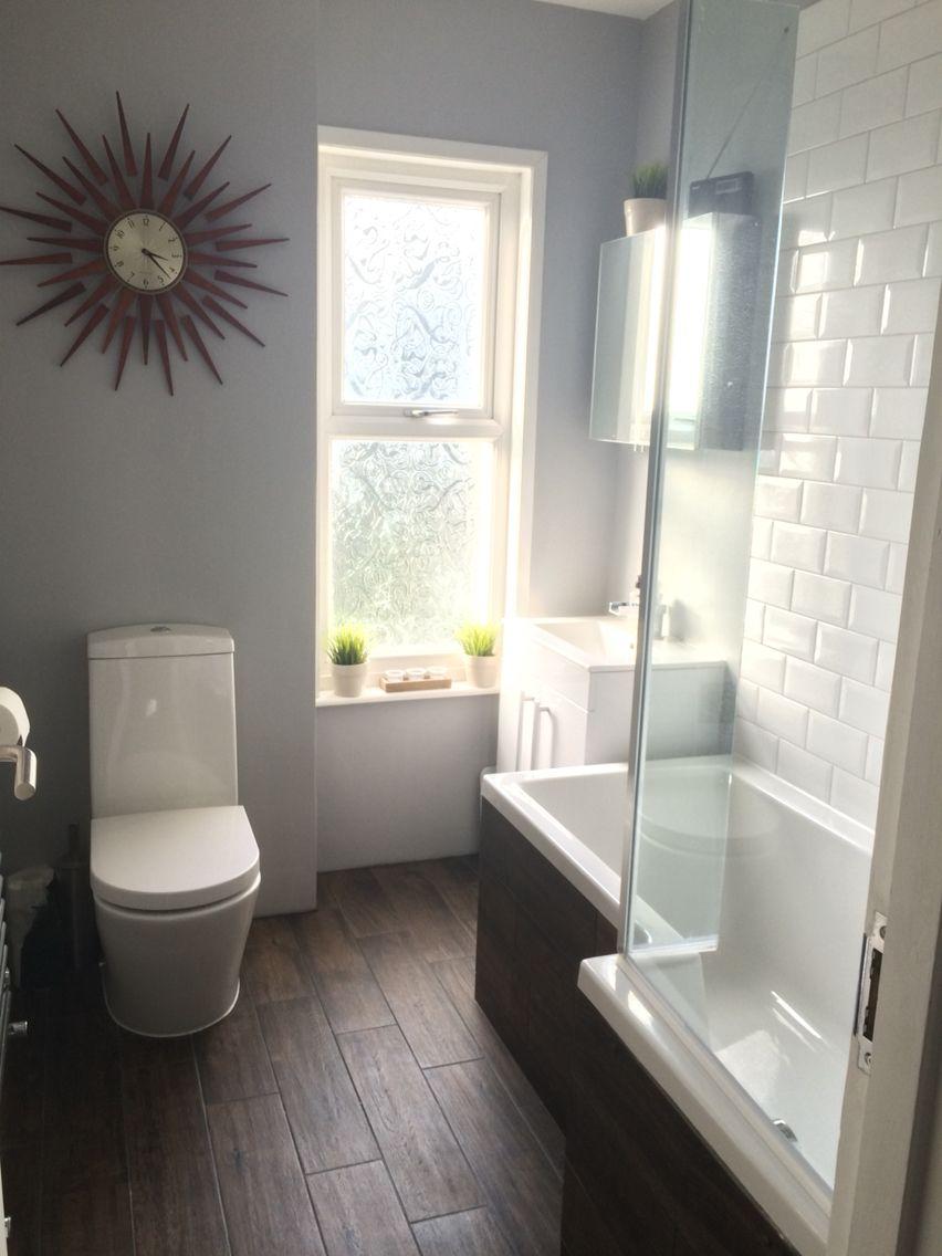 Wood Effect Floor Tiles White Metro Tiles For Bathroom
