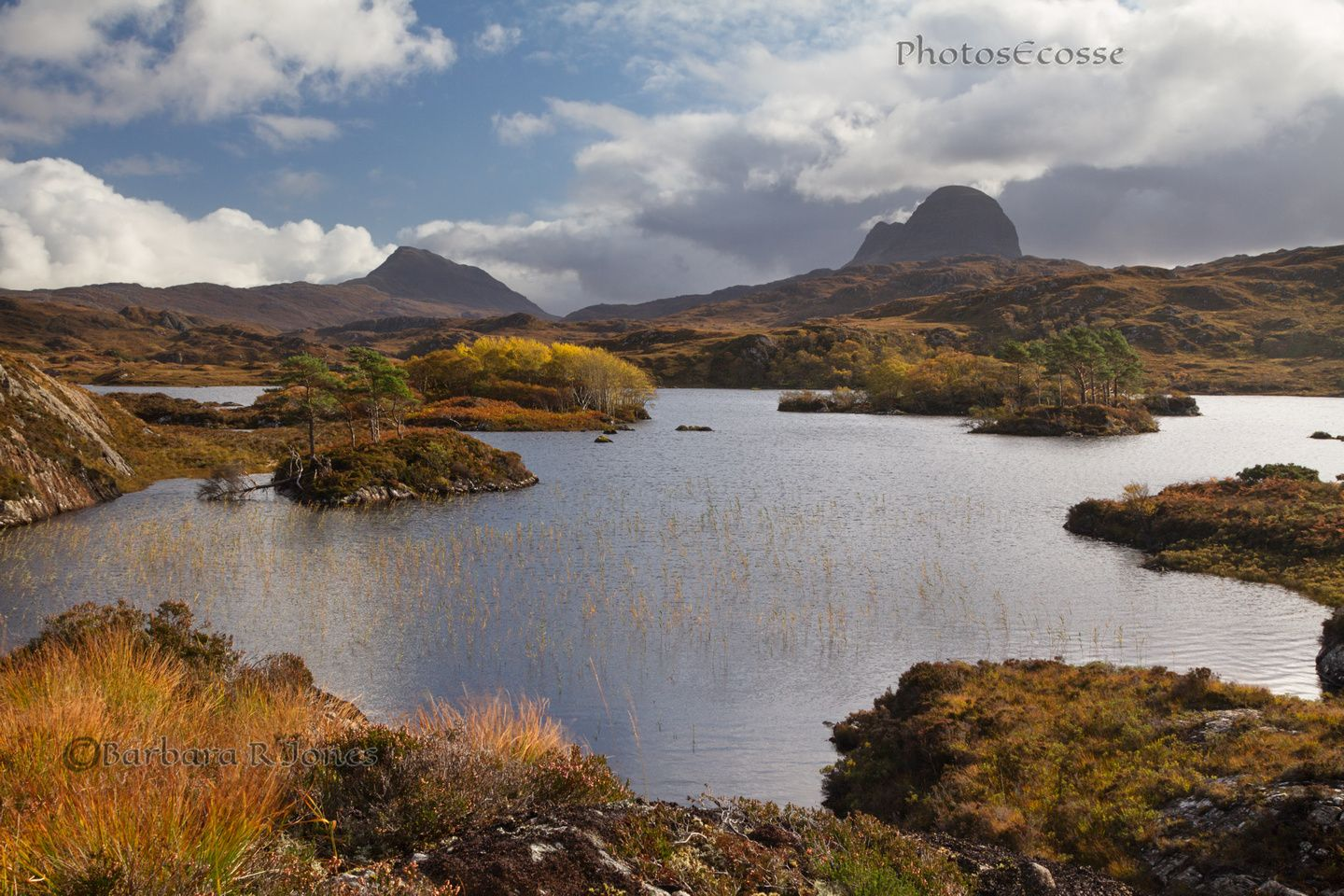 Suilven And Canisp Loch Druim Suardalain Lochinver Assynt Scotland Scottish Landscape Assynt Scotland Hiking