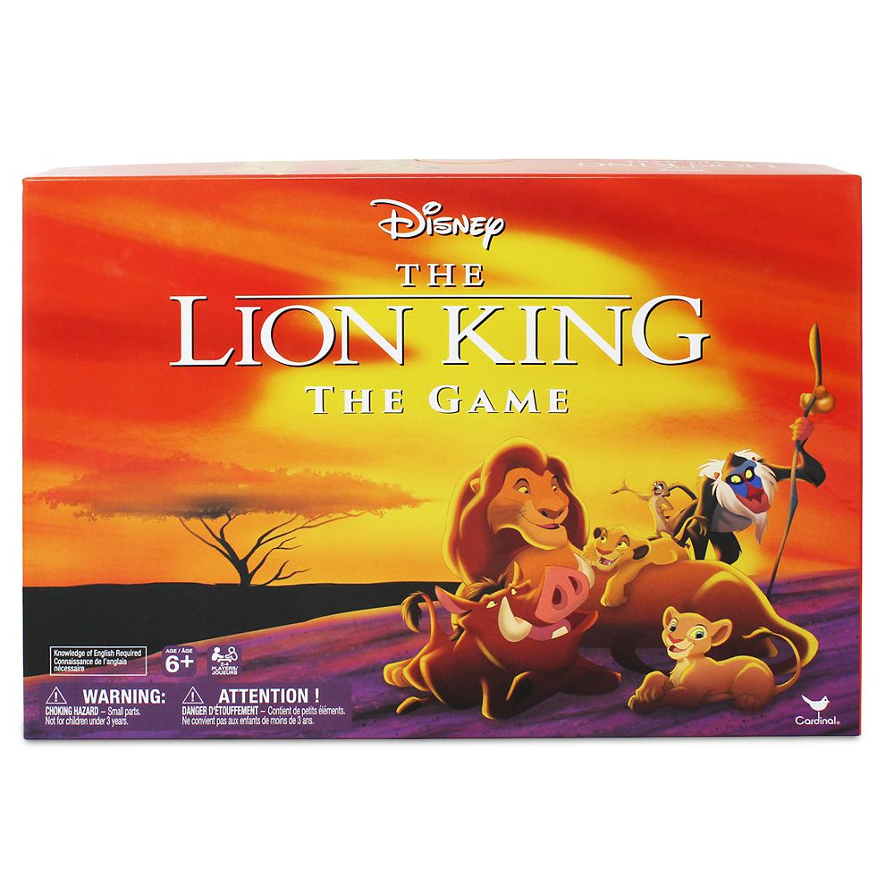 The Lion King Classic Board Game by Milton Bradley