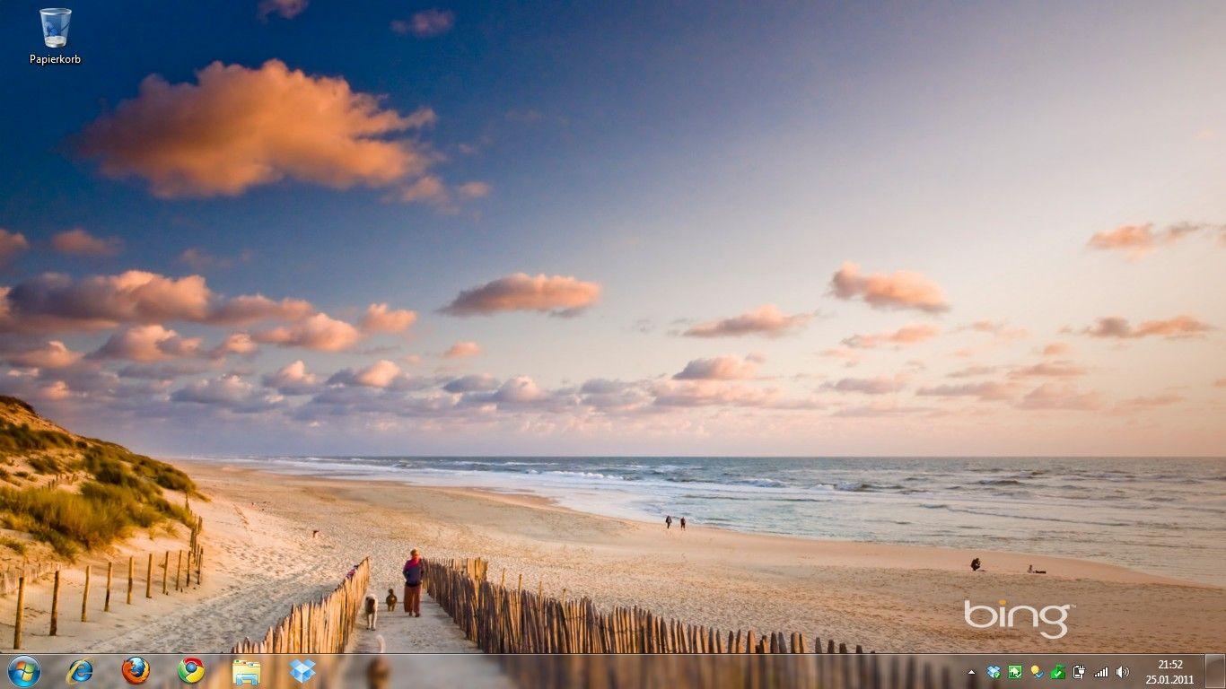 Bing Images Wallpaper Die Verschiedenen Desktophintergrundbilder Konnt Ihr Per Rechts Beach Road Trip France Wallpaper Beach