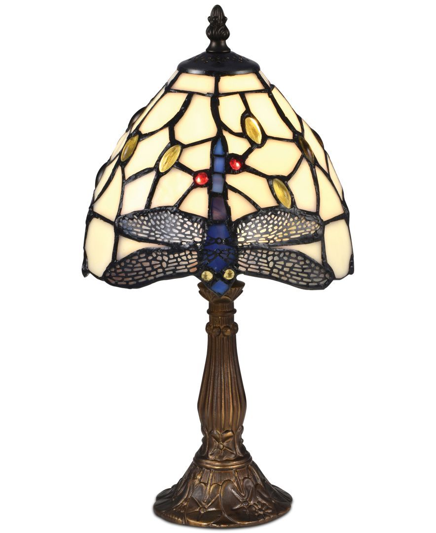 Dale Tiffany Cape Dragonfly Accent Lamp Lamp Accent Lamp Dale Tiffany