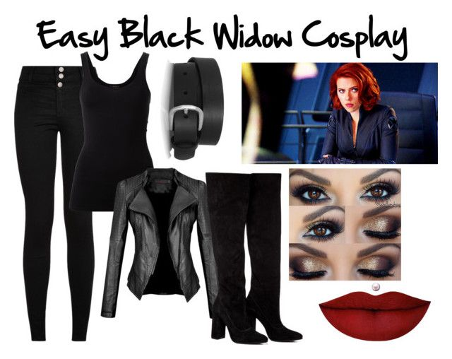 Easy Black Widow Cosplay Diy Black Widow Costume Black