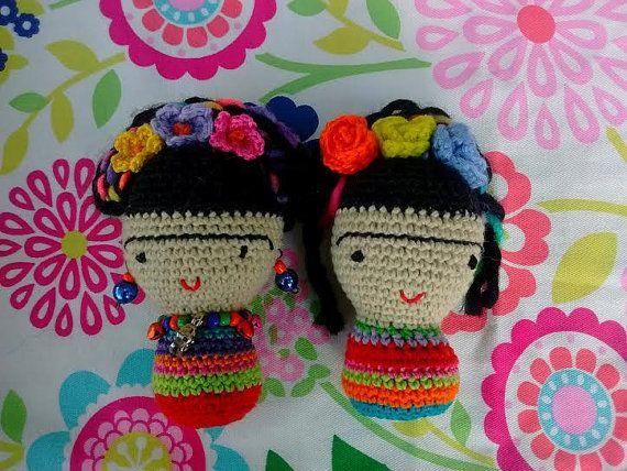 Amigurumis De Frida Kahlo : Los amigurumi frida kahlo