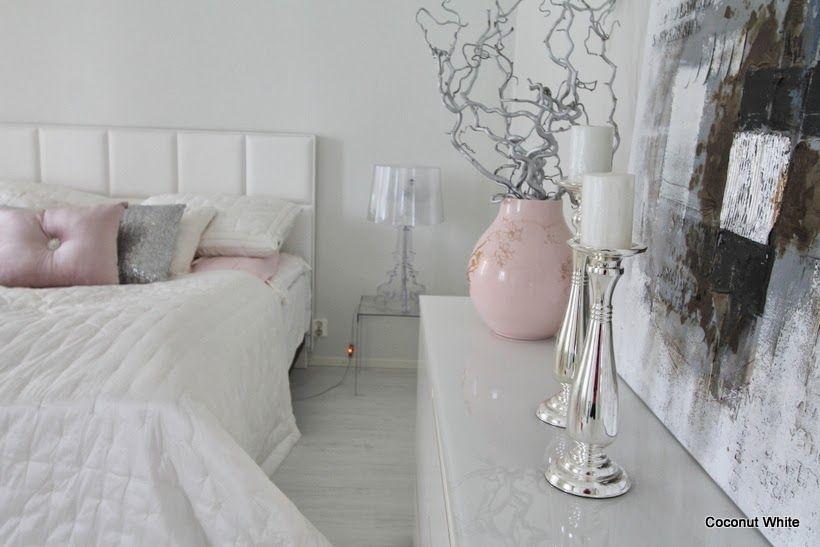 Coconut White - AmandaB Chrome Lanterns