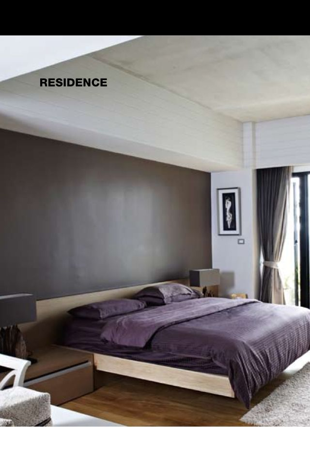 Best Bedroom Idea Slate Colored Wall Behind Bed Enlarged 640 x 480