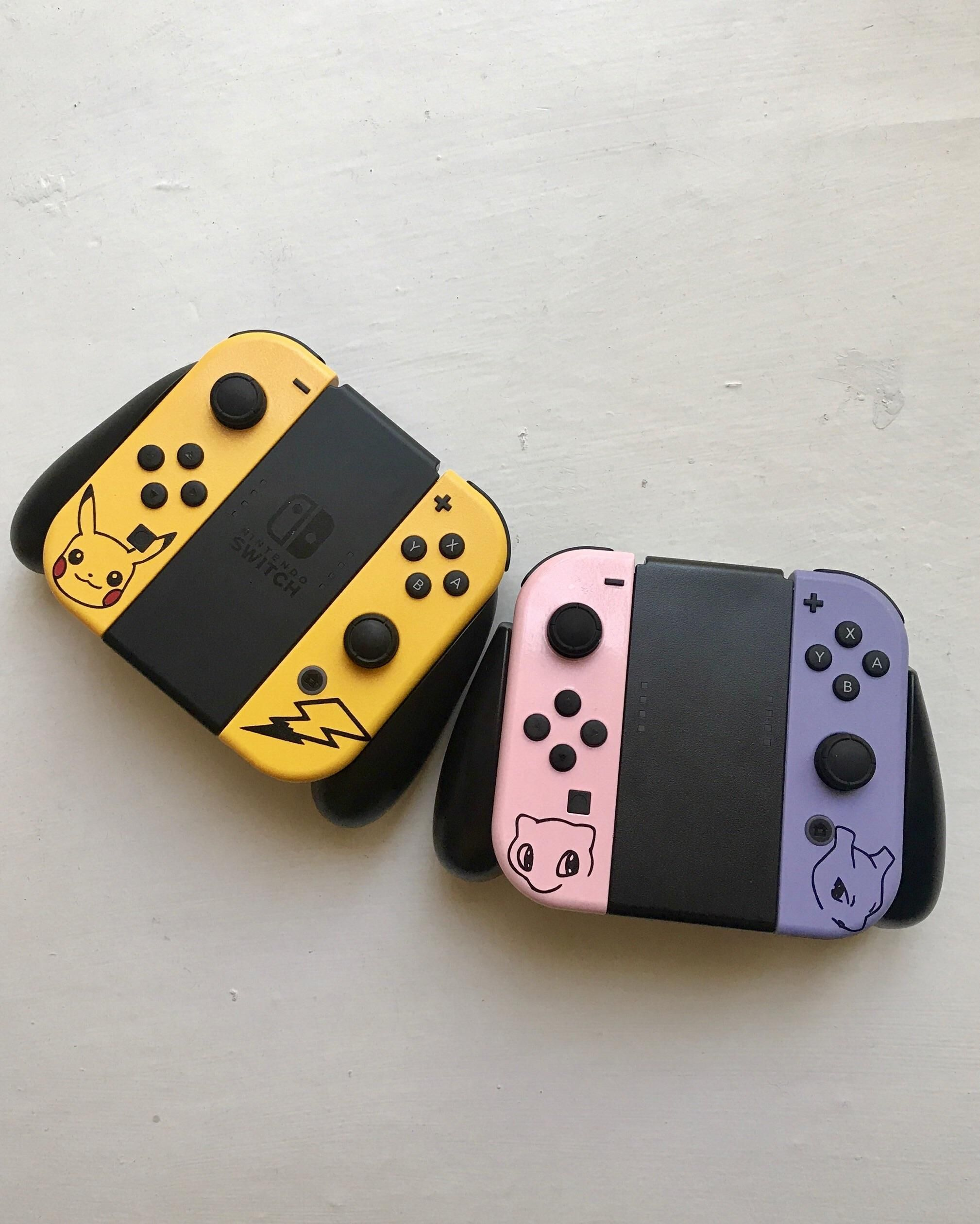 So these custom joycons just came in https i redd
