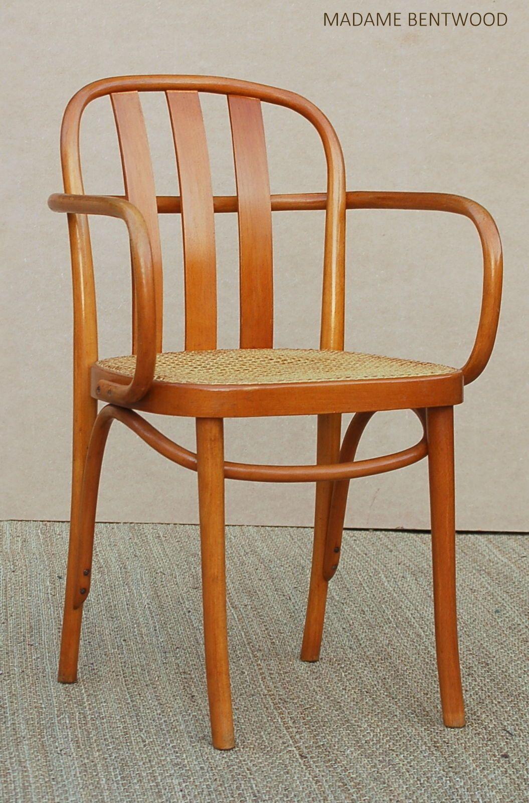Chaise Fauteuil Bistrot Prague Chair Type 811 Design Hoffmann Thonet Ebay Chair Chair Types Chaise