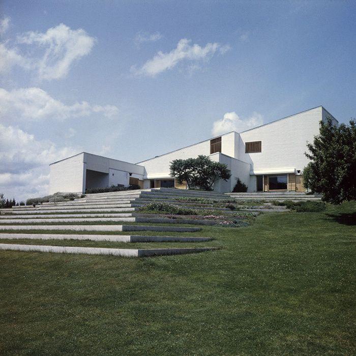10 maisons du0027architectes à visiter Alvar aalto, Architecture and - maison avec tour carree