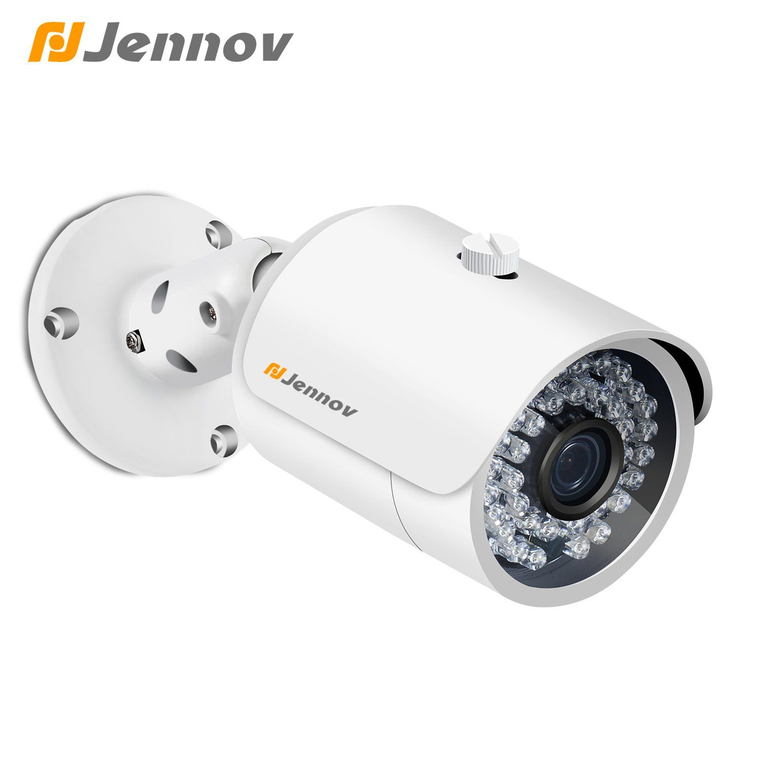 Jennov POE Security IP Camera Home Surveillance System Bullet Indoor ...