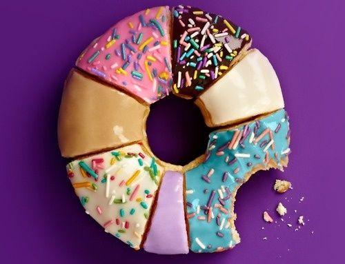 버라이어티 아이싱 도넛