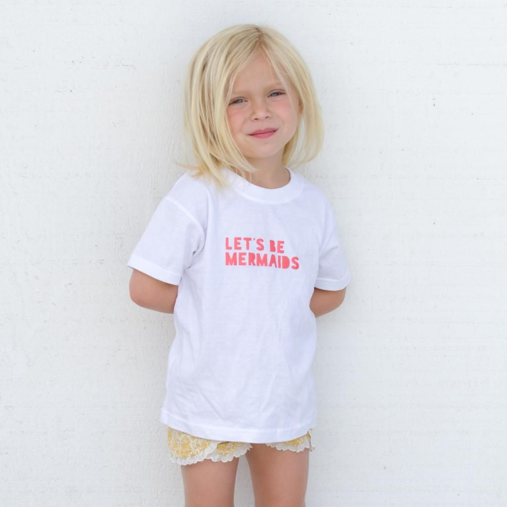 Let S Be Mermaids Tee Girls Surf Clothes Surf Outfit