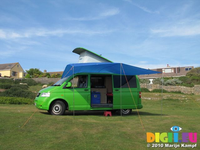 Homemade Awning Sun Canopy For A VW T5 Campervan