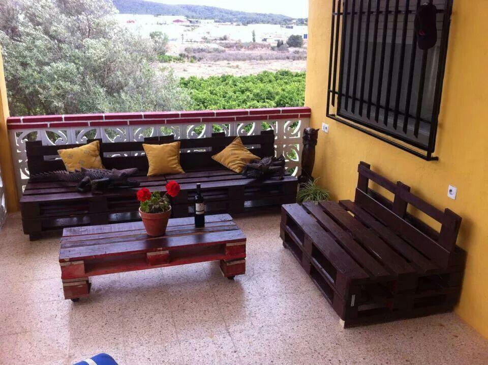 Muebles De Palets Para Terraza De Casa De Campo Diy Pallet