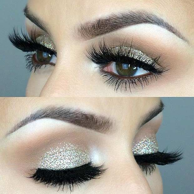 31 Beautiful Wedding Makeup Looks For Brides I Want To Try The Second One Fun