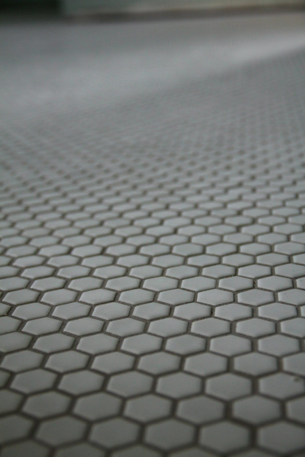 Gray Hexagon Tile Floor Materials Pinterest